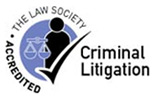Criminal law, Law Society emblem